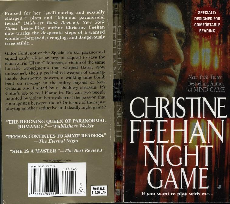 NIGHT GAME BY CHRISTINE FEEHAN EPUB